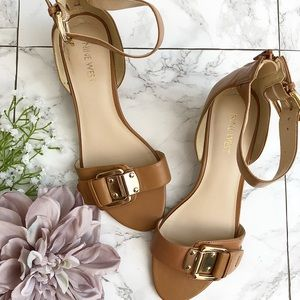 Nine West Ankle Strap Wedge Sandals